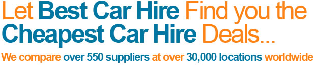 Let Best Car Hire find...